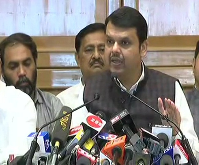 Maha Govt Formation | Fadnavis resigns as CM, says 'Thackeray betrayed mandate'; Sena hits back