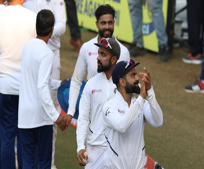 Ind vs Ban 1st Test: Mayank's double ton, pacers' fiery bowling help India crush Bangladesh by an innings and 130 runs