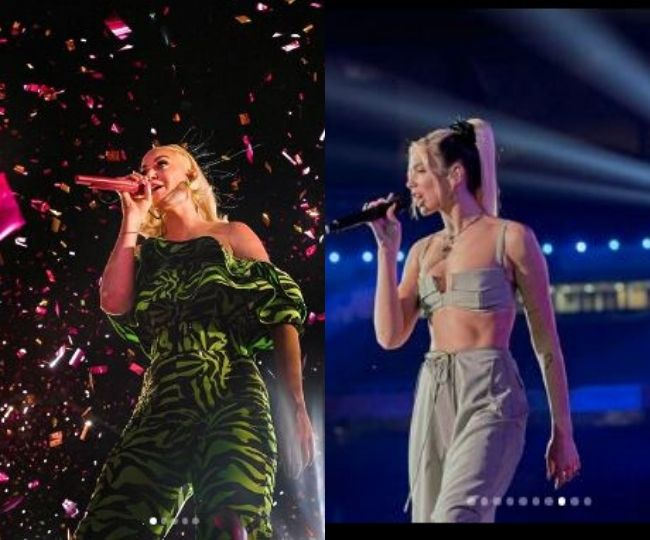 Katy Perry and Dua Lipa lit up OnePlus music festival | See Pics