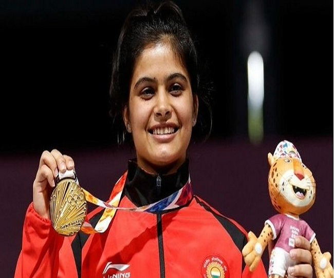 ISSF World Cup Final: Shooter Manu Bhaker sets new record, wins gold in 10-meter air pistol event