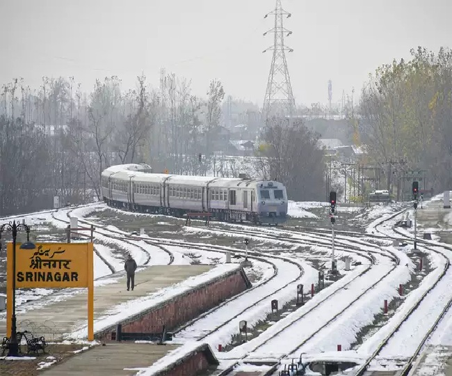 Rail services resume in Kashmir valley after more than three months