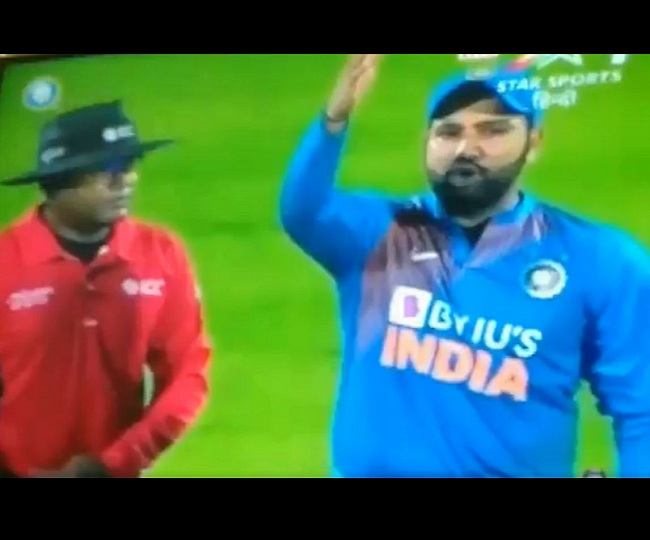 India vs Bangladesh, 2nd T20I: Rohit Sharma loses cool after third umpire's howler | Watch