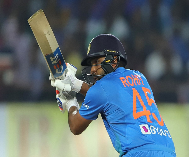 India vs Bangladesh, 2nd T20I: Rohit Sharma slams 18th fifty in 100th T20I