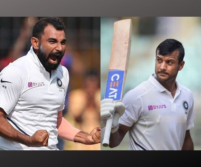 Mohammad Shami and Mayank Agarwal climb to career best positions in latest ICC rankings