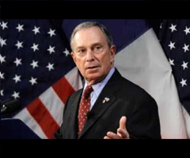 'Running for president to defeat Trump and rebuild America': Former New York Mayor Michael Bloomberg