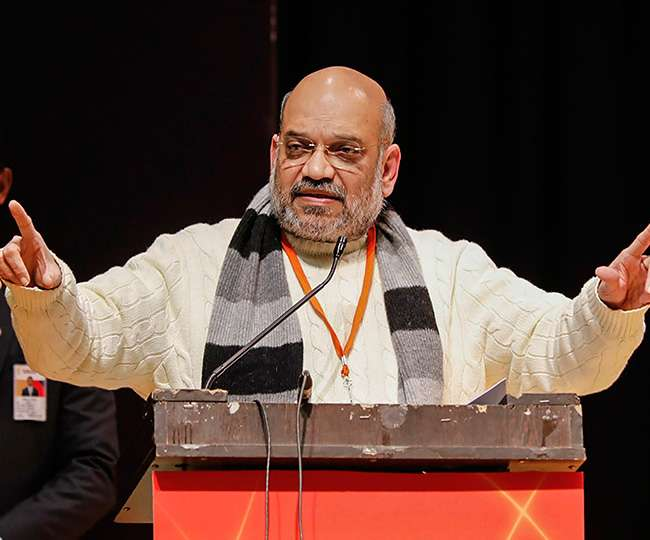 Maharashtra Elections 2019 | 'Forget bloodbath, not even a single bullet fired': Amit Shah hits back at Congress and NCP