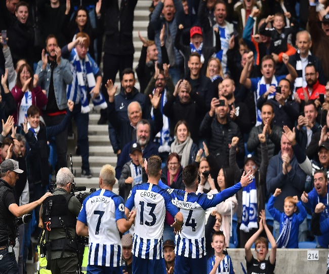 Premier League: BHA stuns Tottenham Hotspur with 3-0 win at home, Liverpool remains on top