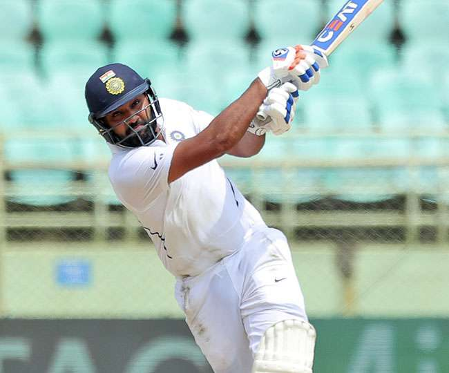 India vs SA 1st Test: Rohit Sharma becomes first batsman to score two centuries in debut match as opener