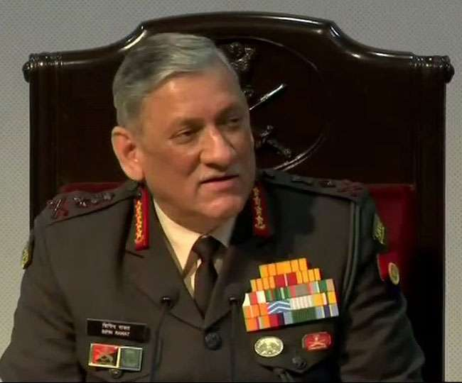 '6-10 Pak soldiers, as many terrorists killed as Army destroys 3 terror camps in PoK': Bipin Rawat