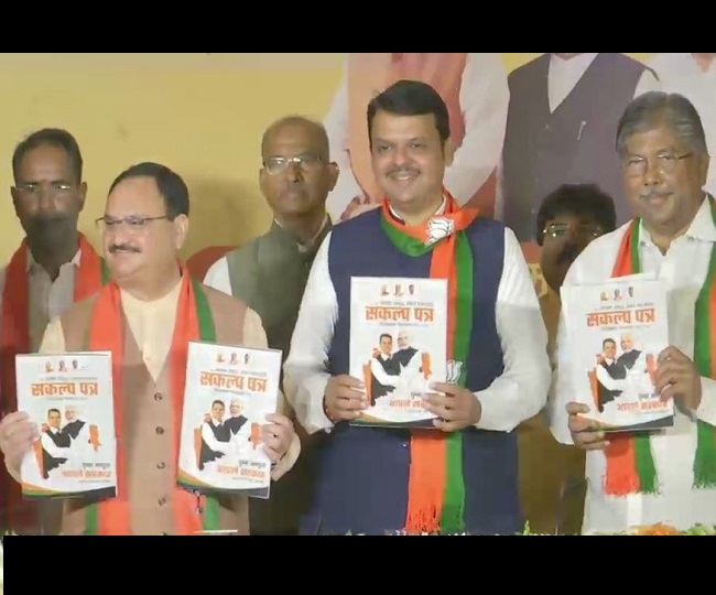 Maharashtra Assembly Elections 2019 | BJP promises farm loan waiver, 1 crore jobs, adequate water supply in its poll manifesto