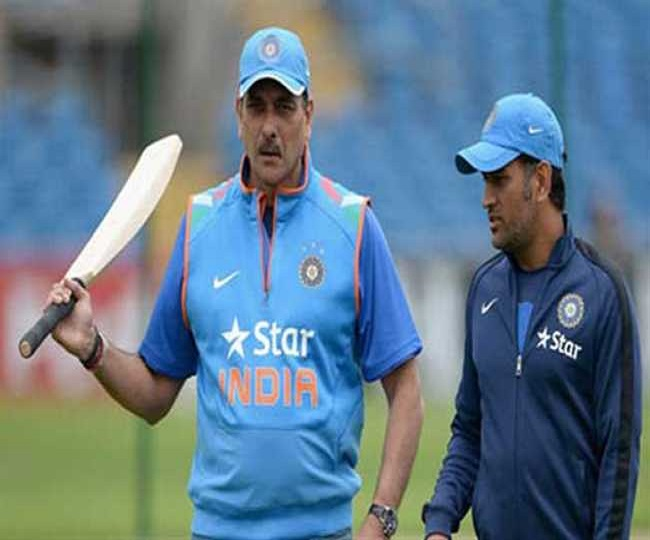 'That's for him to decide': Ravi Shastri on Dhoni's comeback