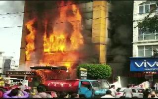 Fire breaks out at hotel in Madhya Pradesh's Indore, several people feared trapped