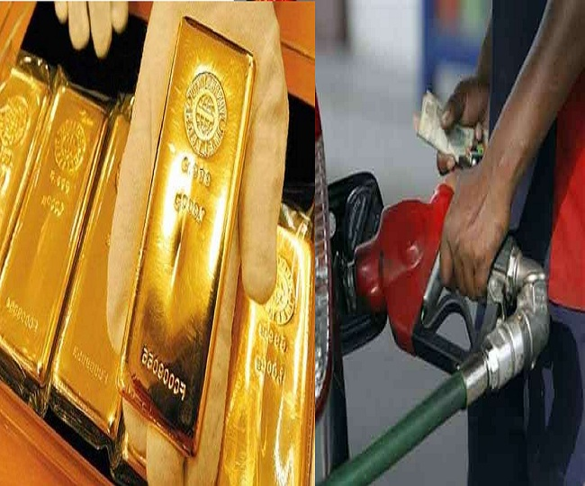 Gold prices dip to one-week low, petrol prices slashed for sixth consecutive day