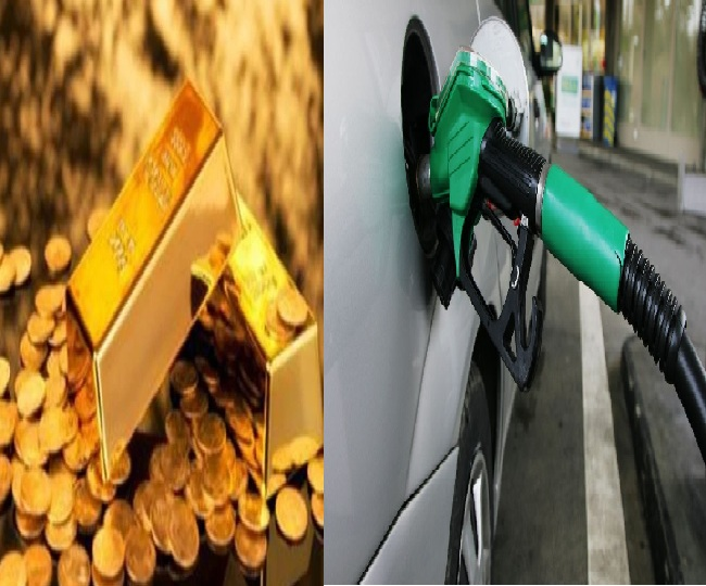 Gold and Petrol prices slashed for fourth consecutive day