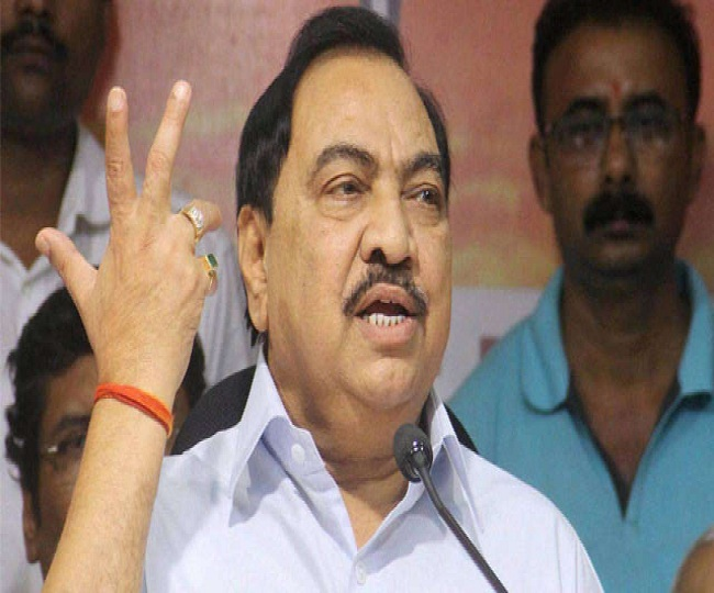 Maharashtra Polls | BJP dumps Eknath Khadse, but placates him with ticket for daughter