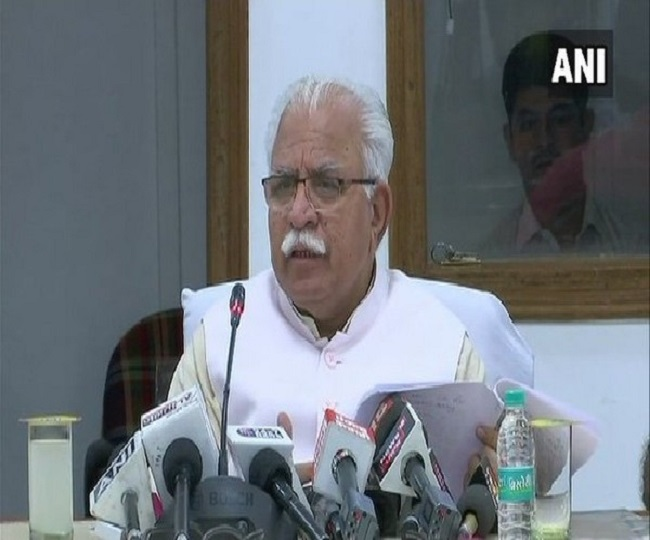 Haryana Govt Formation: Manohar Lal Khattar to take oath as Chief Minister today   Key Points