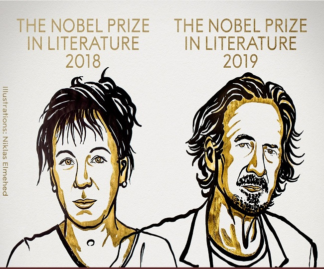 Olga Tokarczuk and Peter Handke win 2018 and 2019 Nobel Prize for Literature