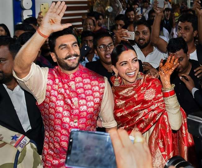 Ranveer Singh's reply to Deepika's comment 'Going where?' will give you major PDA goals