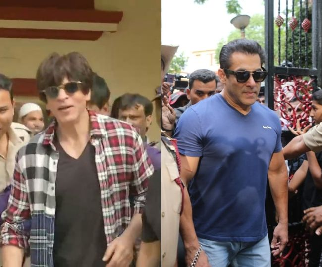Maharashtra Assembly Elections 2019: Salman, Shah Rukh lead B-Town celebs to cast vote | In Pics