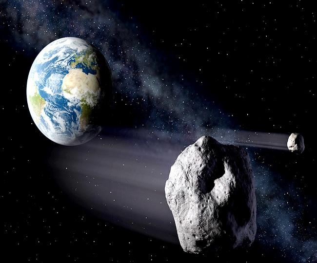 Two gigantic asteroids as big as 'Burj Khalifa' to skim past Earth today, says NASA