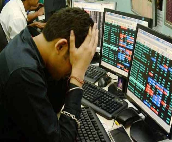 Sensex tanks over 500 points, Nifty falls below 11,450; banking sector worst hit