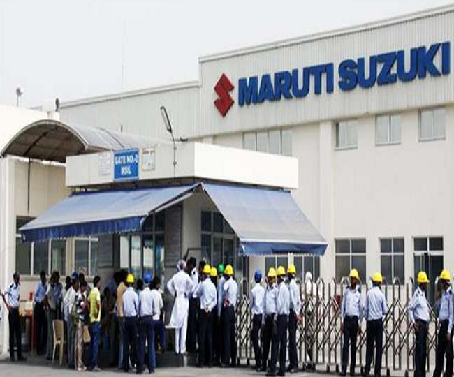 Maruti suzuki shuts down Gurugram and Manesar plants for two days