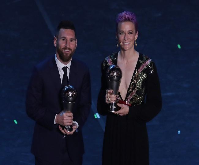 Liverpool boss Jurgen Klopp wins Best FIFA men's coach award