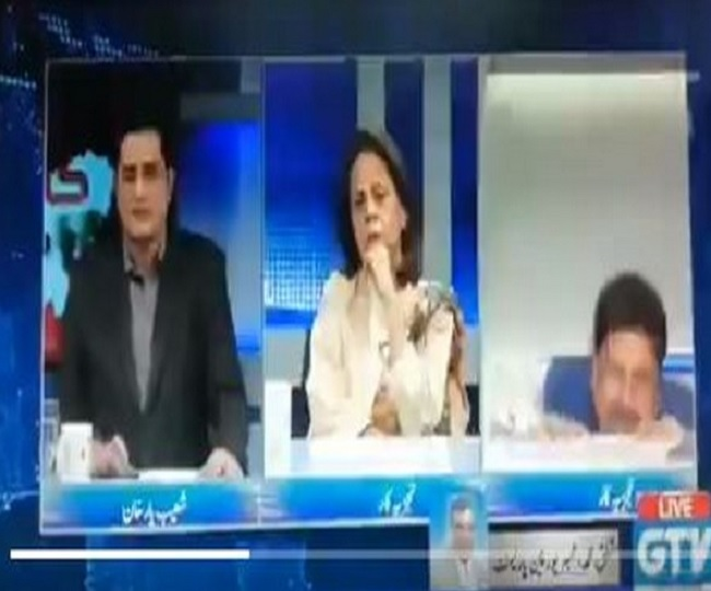 Watch | Pakistani analyst falls off chair during live debate leaves Twitter in splits