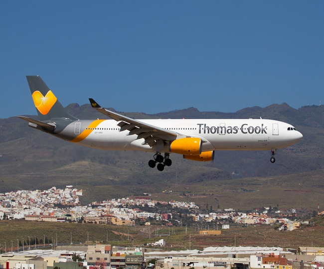British travel giant Thomas Cook collapses; triggers UK's largest repatriation since World War II