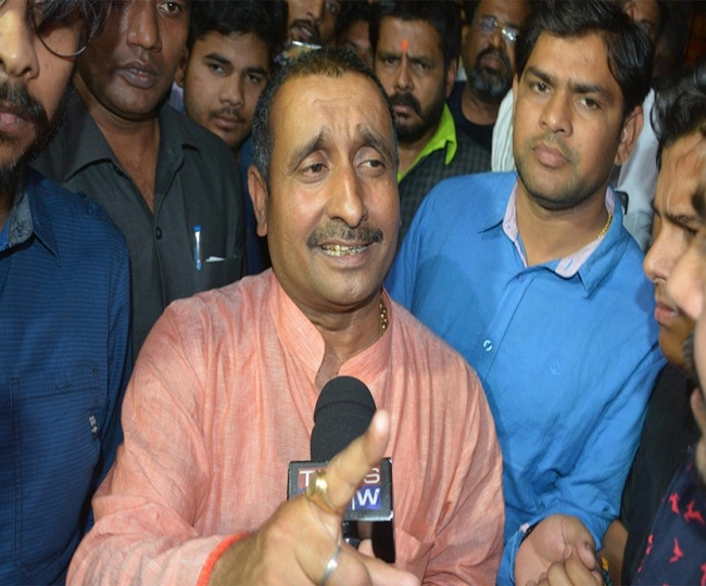 Unnao rape victim's statement recorded at temporary court in AIIMS, Kuldeep Sengar also brought
