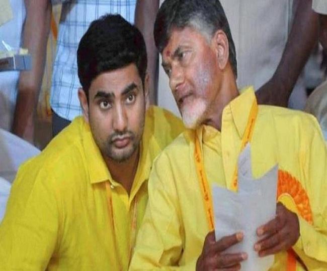 Chandrababu Naidu, son Nara Lokesh put under house arrest ahead of TDP rally against YSR Congress