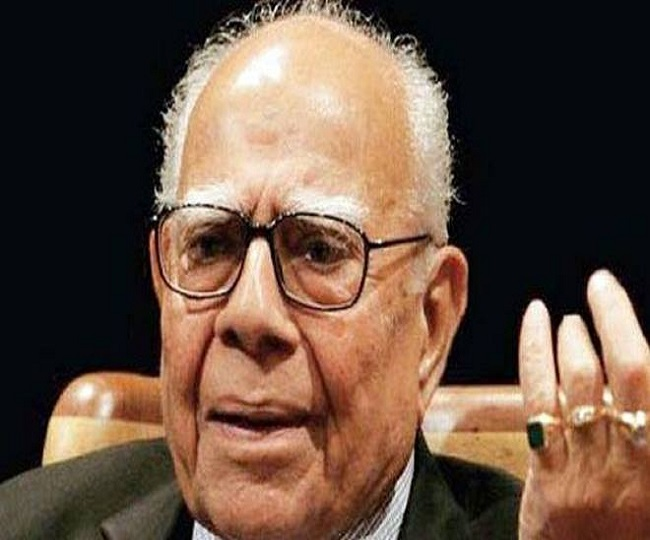 'Nation has lost a distinguished jurist': Leaders across political spectrum pay tributes to Ram Jethmalani