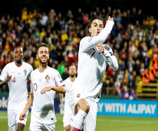 Euro 2020 Qualifiers: Ronaldo scores four as Portugal crush Lithuania 5-1