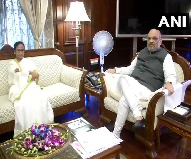Mamata Banerjee meets Amit Shah in Delhi, says 'NRC not needed in West Bengal'