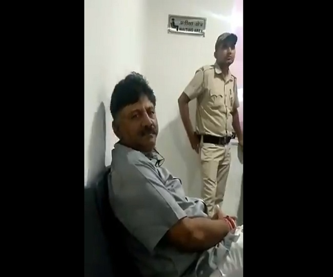 'Political vendetta stronger than law': DK Shivakumar, in ED custody, sends video message