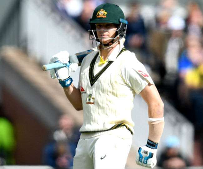 Ashes 2019: Another century from Steve Smith takes Aussies to 245/5 at lunch on Day 2