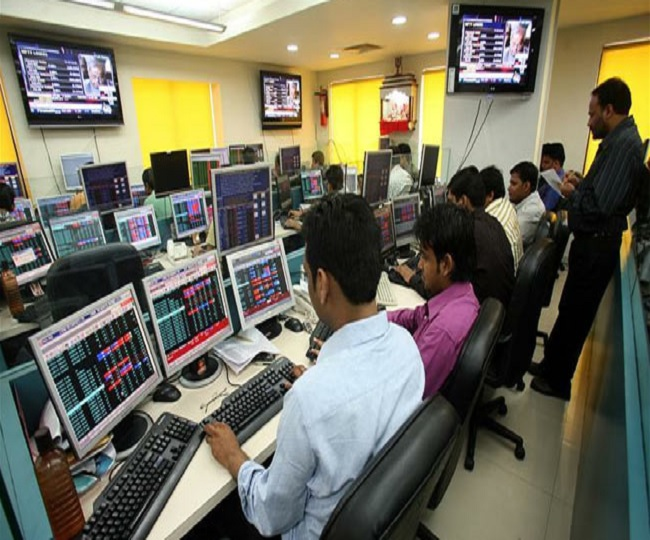 Sensex closes at 38,014.62 points after biggest spike in a decade; auto, bank stocks soar