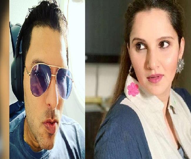 'Bring it back': Sania Mirza trolls Yuvraj Singh for 'chikna chamela' look