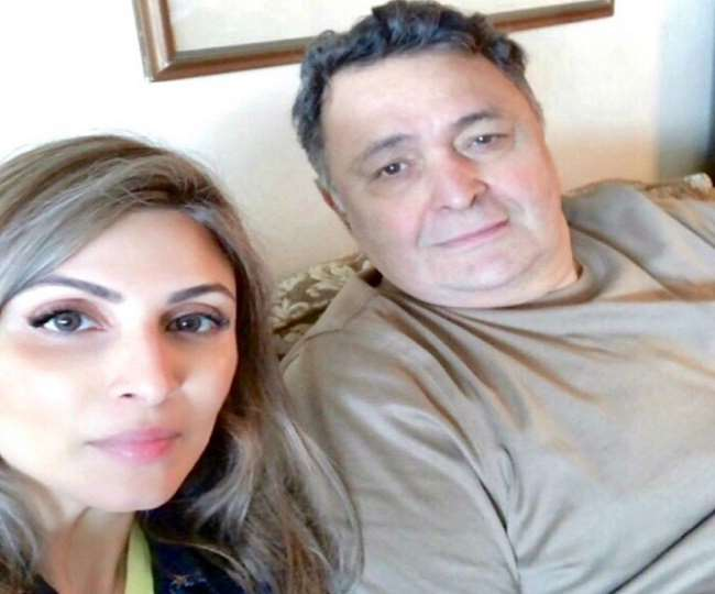 Rishi Kapoor's daughter Ridhima to travel 1,400 kms to Mumbai amid lockdown to attend father's last rites