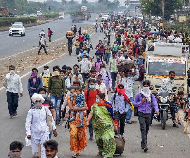 States oppose Centre's plan to send stranded migrant workers home by bus, demand special trains