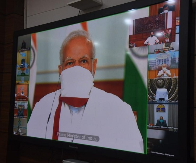 PM Modi interacts with CMs, may address nation on Sunday to announce decision on lockdown extension