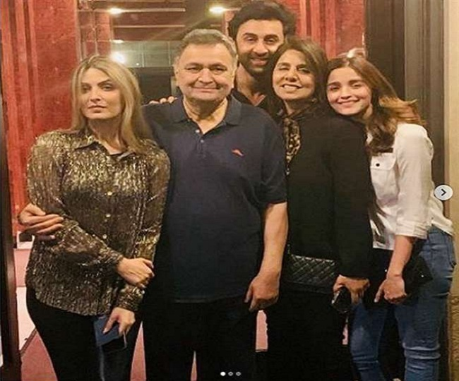 Don't remember me with tears': Rishi Kapoor's family's heartfelt message on his demise