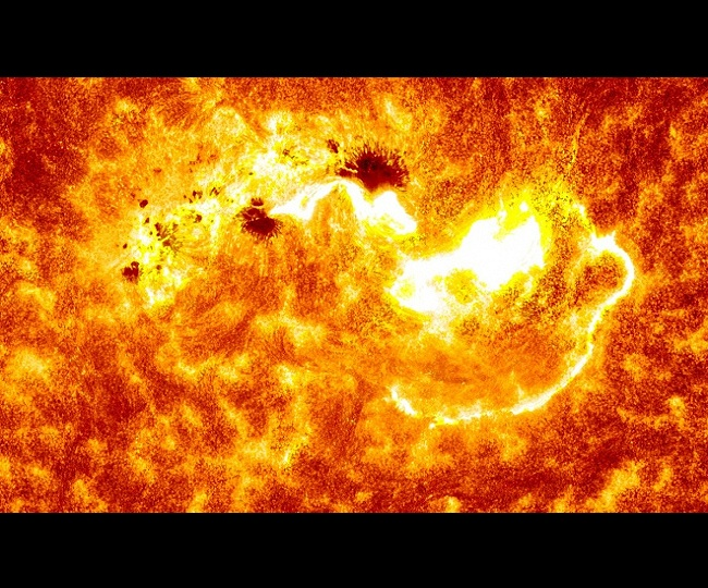 Explained: AR2770, the sunspot turning towards Earth and it's not of so 'killing' intensity - Jagran English