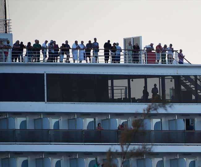 Third Indian aboard quarantined Japanese cruise ship tests positive for coronavirus