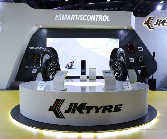 Auto Expo 2020: JK Tyre launches Smart Tyre range to make your trip a hassle free ride, unveils futuristic concept tyres