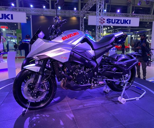 Auto Expo 2020: Suzuki India unveils 'neo-retro' Suzuki Katana with 999 cc engine