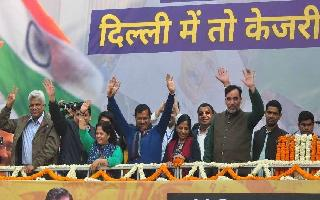CM-designate Arvind Kejriwal to take oath on Feb 16 at Delhi's Ramleela Maidan: Manish Sisodia