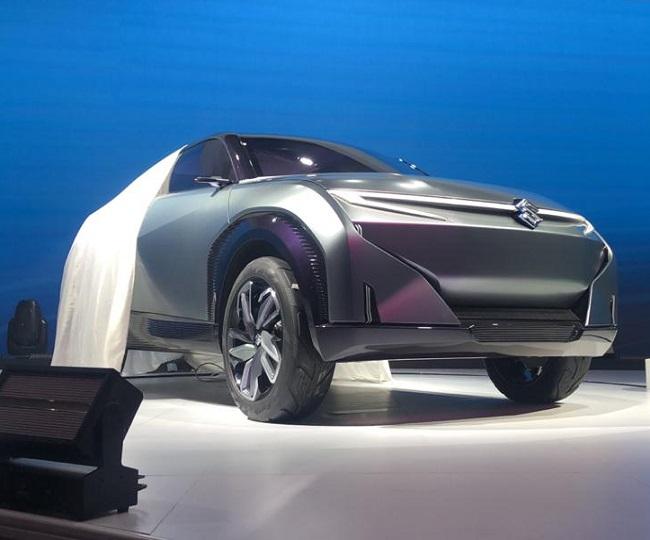 Auto Expo 2020: Maruti Suzuki showcases CONCEPT FUTURO-e along with 'Strong Hybrid Technology' on Swift | In Pics