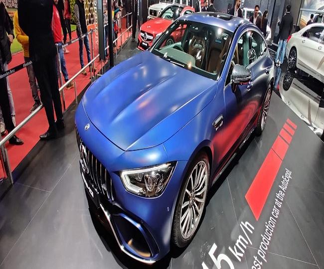 Auto Expo 2020: Mercedes launches AMG GT 63 S 4-Door Coupé, unveils AMG A35 4 M Limousine; details inside