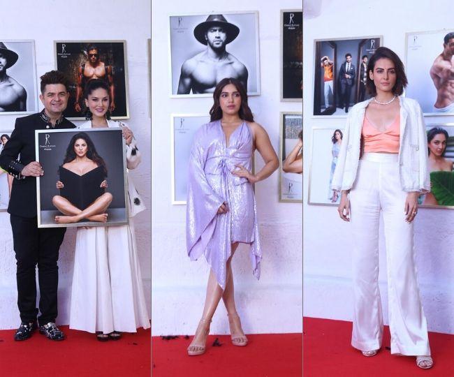 From Bhumi Pednekar to Rekha, B-Town celebs grace Dabboo Ratnani's calendar launch | See Pics